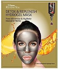 Parfumuri și produse cosmetice Mască Hydrogel pentru față - 7th Heaven Renew You Detox Replenish Hydrogel Mask