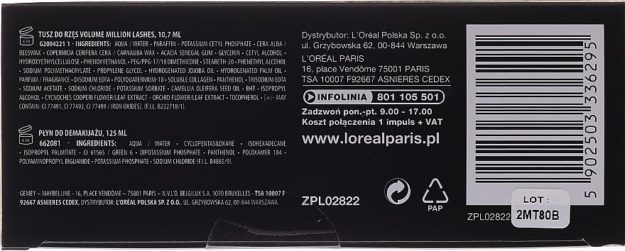Set - L'oreal Paris Make-up Set (mascara/10.7ml + demaquillant/125ml) — Imagine N2