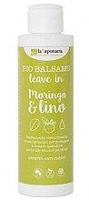 """Parfumuri și produse cosmetice Balsam fără clătire pentru păr """"Moringa și in"""" - La Saponaria Leave-in Conditioner Moringa & Lino"""