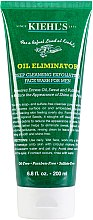 Parfumuri și produse cosmetice Gel exfoliant pentru bărbați - Kiehl's Oil Eliminator Deep Cleansing Exfoliating Face Wash