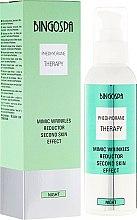 Cremă de față - BingoSpa Mimic Wrinkles Reductor Second Skin Effect — Imagine N1