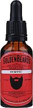 """Parfumuri și produse cosmetice Ulei pentru barbă """"Surtic"""" - Golden Beards Beard Oil"""