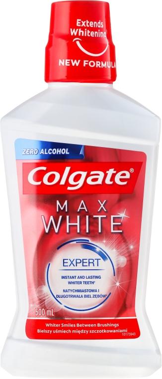 Agent de clătire pentru cavitatea bucală de albire - Colgate Max White