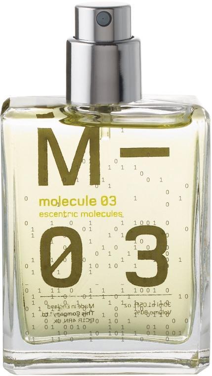 Escentric Molecules Molecule 03 - Apă de toaletă (refill) — Imagine N1