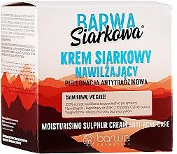 Parfumuri și produse cosmetice Cremă-ser hidratare profundă - Barwa Sulphuric Cream Prolonged Moisturising