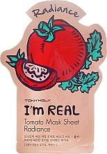 Parfumuri și produse cosmetice Mască de țesut pentru față - Tony Moly I'm Real Tomato Mask Sheet