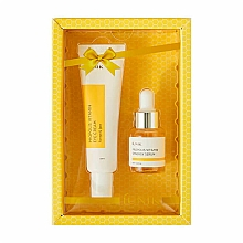Parfumuri și produse cosmetice Set - iUNIK Propolis Vitamin Eye Cream Set (eye/cr/30ml + ser/15ml)