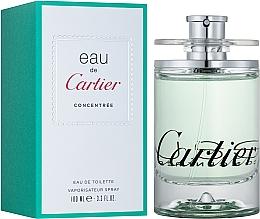 Cartier Eau de Cartier Concentree - Apă de toaletă — Imagine N2