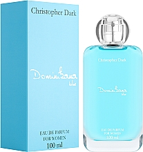 Parfumuri și produse cosmetice Christopher Dark Dominikana Blue - Apă de parfum