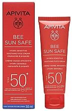 Parfumuri și produse cosmetice Cremă de protecție solară - Apivita Bee Sun Safe Anti-Spot & Anti-age Defence Face Cream SPF50