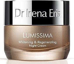 Parfumuri și produse cosmetice Cremă de noapte pentru față - Dr Irena Eris Lumissima Whitening & Regenerating Night Cream