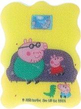 """Parfumuri și produse cosmetice Burete de baie pentru copii """"Purcelușa Peppa"""", George și Daddy Pig - Suavipiel Peppa Pig Bath Sponge"""
