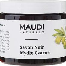 Parfumuri și produse cosmetice Săpun negru - Maudi
