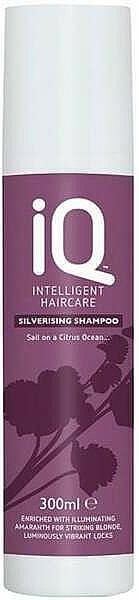 Șampon pentru păr blond - IQ Silverising Shampoo — Imagine N1