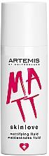 Parfumuri și produse cosmetice Fluid matifiant - Artemis of Switzerland Skinlove Mattifying Fluid