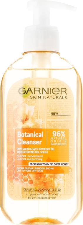 Gel de spălare - Garnier Skin Naturals Botanical Flower Honey