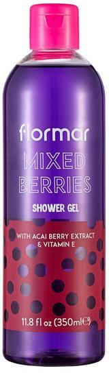 "Gel de duș ""Mix de fructe de pădure"" - Flormar Mixed Berries Shower Gel — Imagine N1"