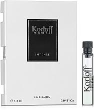 Parfumuri și produse cosmetice Korloff Paris In White Intense - Apă de parfum (tester)