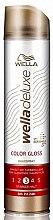 Parfumuri și produse cosmetice Lac de păr - Wella Deluxe Color Gloss Strong