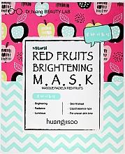 Parfumuri și produse cosmetice Mască de țesut pentru față - Huangjisoo Red Fruits Brightening Mask