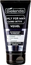 Parfumuri și produse cosmetice Gel de curățare pentru față - Bielenda Only For Men Carbo Detox Gel