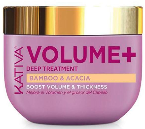 Mască de păr pentru volum și strălucire - Kativa Volume+ Bamboo & Acacia Mask — Imagine N1