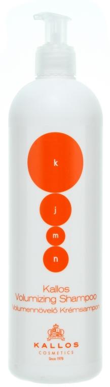 Șampon de păr - Kallos Cosmetics Volumizing Shampoo — Imagine N1