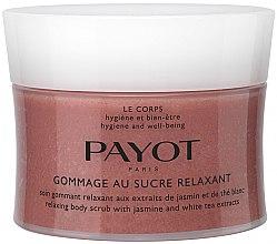 Parfumuri și produse cosmetice Scrub pentru corp cu extracte de iasomie și ceai alb - Payot Payot Le Corps Relaxing Body Scrub