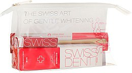 Parfumuri și produse cosmetice Set - Swissdent Extreme Promo Kit (toothpaste/50ml+mouth/spr/9ml+soft/toothbrush/1pc+bag)