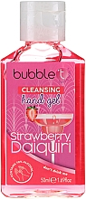 """Parfumuri și produse cosmetice Gel antibacterian de curățare pentru mâini """"Daiquiri de căpșuni"""" - Bubble T Cleansing Hand Gel"""