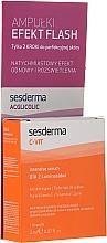 Parfumuri și produse cosmetice Set de seruri - SesDerma Laboratories Efekt Flash (serum/2ml + serum/2ml)