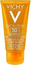 Parfumuri și produse cosmetice Cremă pentru față cu protecție solară - Vichy Capital Soleil BB Tinted Dry Touch Face Fluid SPF 50