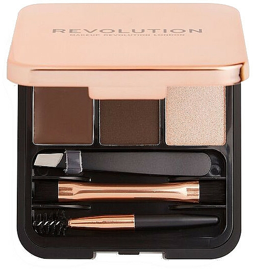 Set pentru sprâncene - Makeup Revolution Brow Sculpt Kit