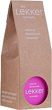 "Parfumuri și produse cosmetice Deodorant natural ""Lavandă"" - The Lekker Company Natural Lavender Deodorant"