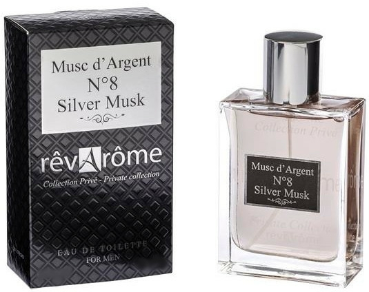 Revarome Private Collection No.8 Silver Musk - Apă de toaletă — Imagine N1