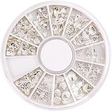 Parfumuri și produse cosmetice Strasuri pentru unghii - Peggy Sage Carousel For Nail Decorations Summer Silver