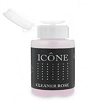 Parfumuri și produse cosmetice Soluție pentru îndepărtarea stratului lipicios de pe unghii - Icone Cleaner Rose
