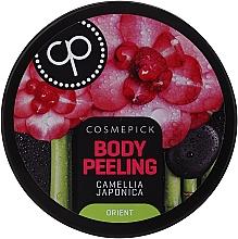 Parfumuri și produse cosmetice Peeling relaxant cu ulei de camellia japonică pentru corp - Cosmepick Body Peeling Camellia Japonica