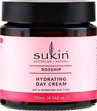 Cremă hidratantă de zi pentru față - Sukin Rose Hip Hydrating Day Cream — Imagine N2