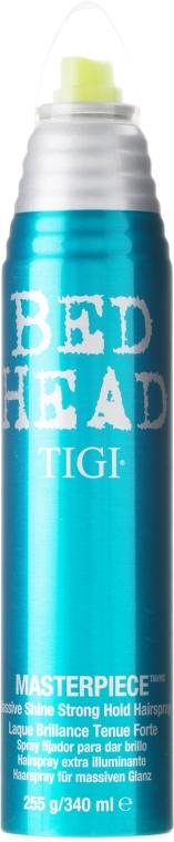 Spray Fixativ pentru Strălucire - Tigi Bed Head Masterpiece Massive Shine Hairspray — Imagine N2
