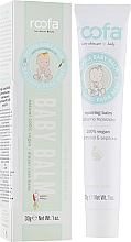 Parfumuri și produse cosmetice Balsam de corp - Roofa Vegan Baby Balm Panthenol & Sepitonic