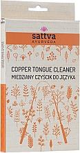 Parfumuri și produse cosmetice Curățător pentru limbă - Sattva Ayurveda