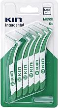 Parfumuri și produse cosmetice Set perii interdentare, 0,9 mm - Kin Micro ISO 2
