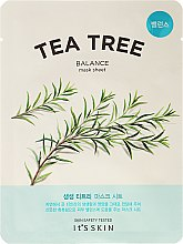 Parfumuri și produse cosmetice Mască de față - It's Skin The Fresh Mask Sheet Tea Tree