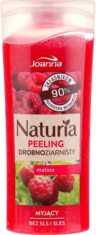"""Peeling fin pentru duș """"Zmeură"""" - Joanna Naturia Peeling"""