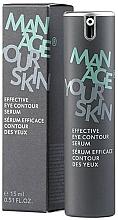 Parfumuri și produse cosmetice Ser pentru zona ochilor - Dr. Spiller Manage Your Skin Effective Eye Contour Serum