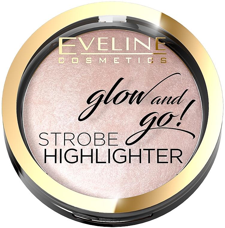 Iluminator pentru față - Eveline Cosmetics Glow And Go Strobe Highlighter