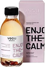 Parfumuri și produse cosmetice Ulei de corp - Veoli Botanica Relaxing Body Oil With Rose Petals Enjoy The Calmness