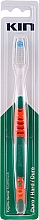 Parfumuri și produse cosmetice Periuță de dinți, dură, roșie - Kin Hard Toothbrush