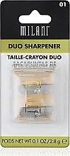 Parfumuri și produse cosmetice Ascuțitoare dublă pentru creioane - Milani Duo Sharpener